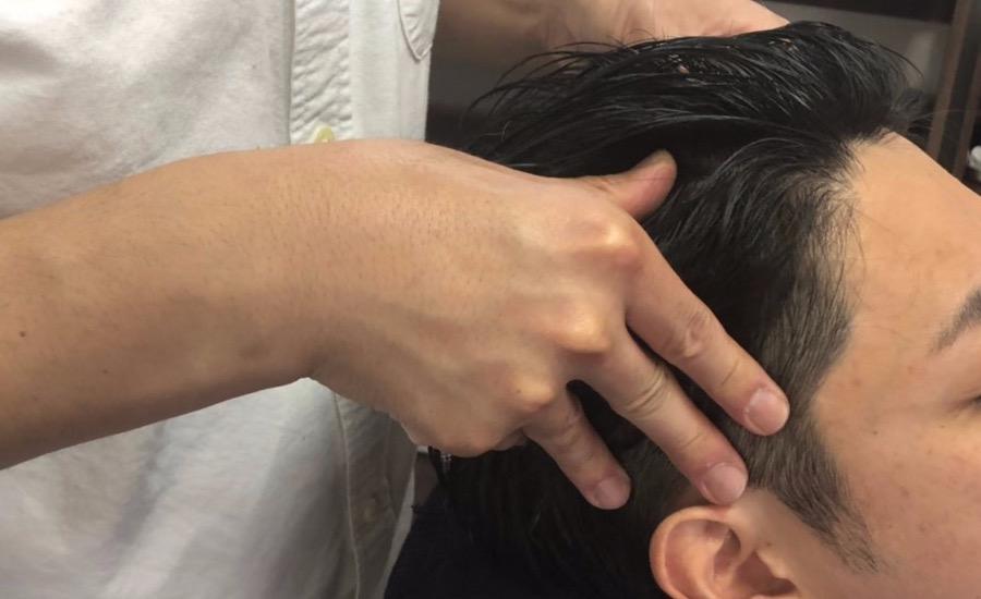 江戸川区 瑞江 理容室 床屋 メンズカット ヘットスパ 頭皮ケアanbe